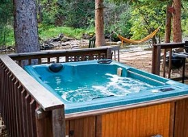 Hideout Cabins Rocky Mountain Vacation Pet Friendly Private At